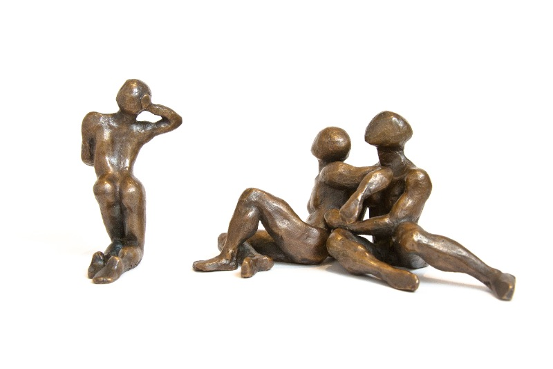 sculpture-bronze-femme-hommes