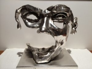 sculpture-bronze-patine-argent-21grammes