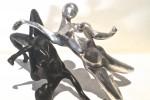 bronze noir corps femme