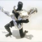 personnage bronze noir