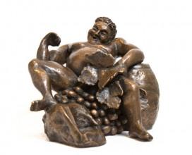 culpture-bronze-bacchus-homme